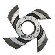 Фреза радиусная для фрезерования полуштапов BELMASH 125х32х17мм (правая), R12