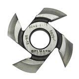 Фреза радиусная для фрезерования полуштапов BELMASH 125х32х19мм (правая), R14