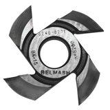 Фреза радиусная для фрезерования полуштапов BELMASH 125х32х21мм (правая), R16