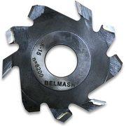 Фреза пазовая с подрезающими зубьями BELMASH 125х32х4мм