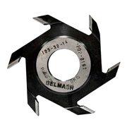 Фреза пазовая BELMASH 125×32×14мм