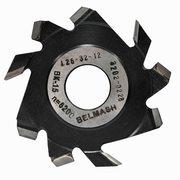 Фреза пазовая с подрезающими зубьями BELMASH 125×32×12мм