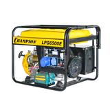 Генератор CHAMPION LPG6500E + газ