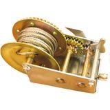 Лебедка ручная барабанная Калибр ЛБ-1100
