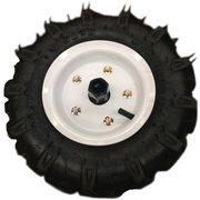 Резиновые колеса диаметром 4.00-8